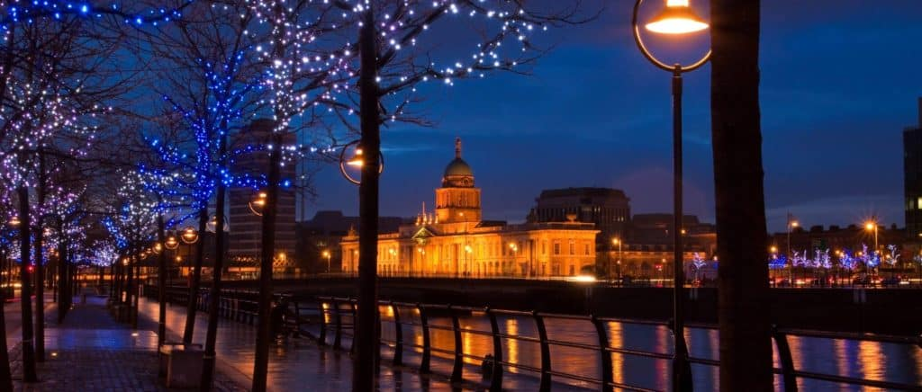 Dublin at Christmas - DCU Rooms